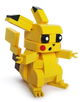 Pikachu in Lego form