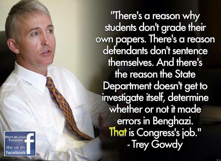 Trey Gowdy #Benghazi