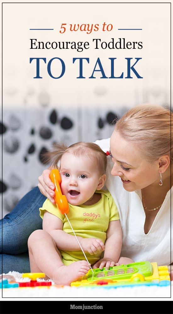 5 Effective Ways To Encourage Your Toddler To Talk #Parenting