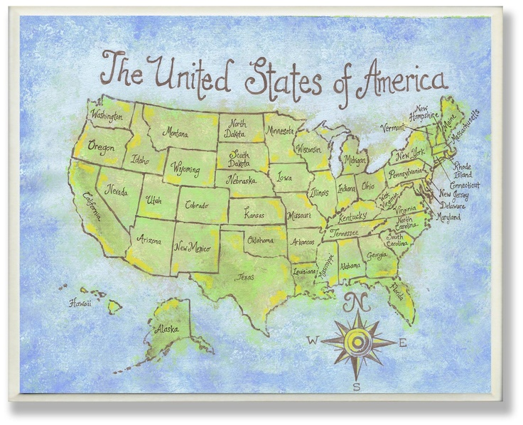 USA Wall MapMaps Wall Art, Kiddos Room, Usa Wall Maps, Boys Bedrooms, Kids Roomplay, Room Ideas, Kid Rooms, United States, America Maps