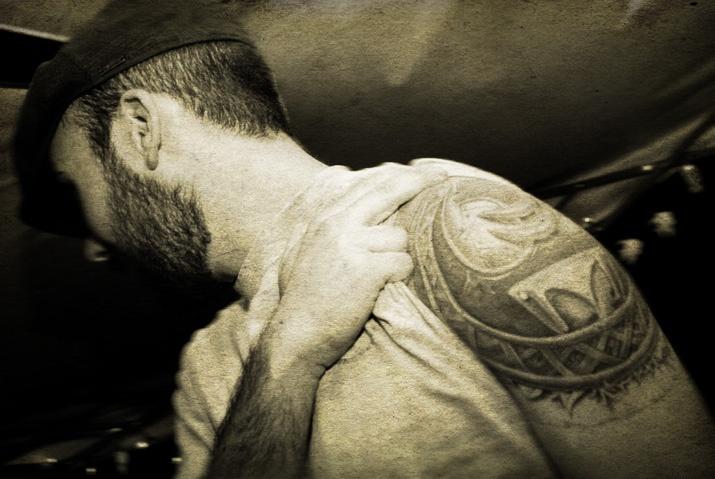 tattoos, beards, www.yellowmetblue.com