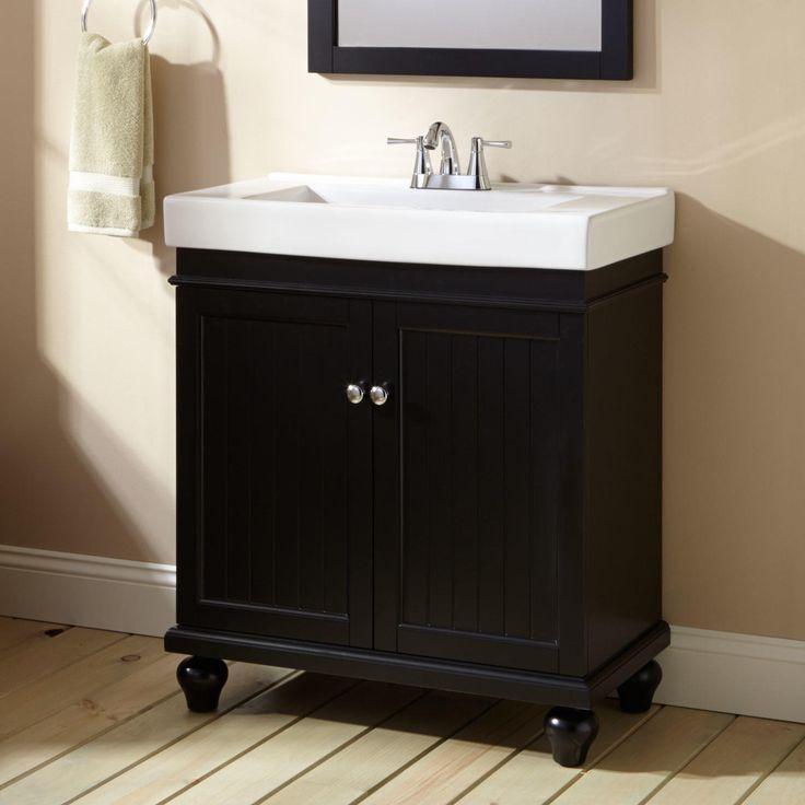 Bathroom Decorating Ideas Black Vanity best 25+ black bathroom vanities ideas on pinterest | black