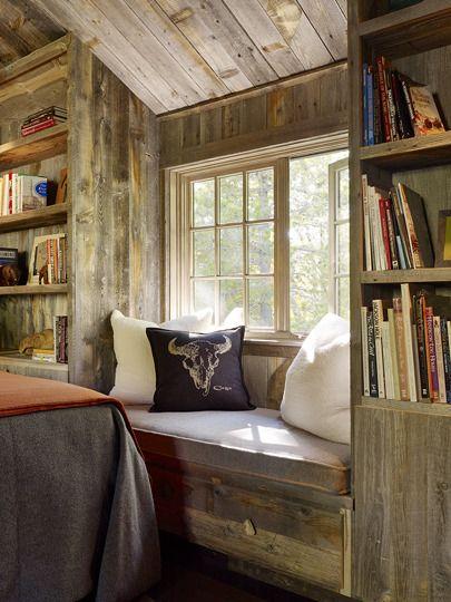 13 best Rustic Window Seats images on Pinterest | Window ...