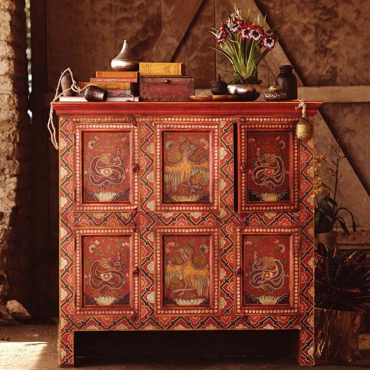Sundara Cabinet ~ Hand Crafted By Artisans In India Via Worldmarket.com/ CRAFT