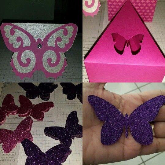 Mariposas, fiesta, 15 años,  rosado, tarjetas, morado,