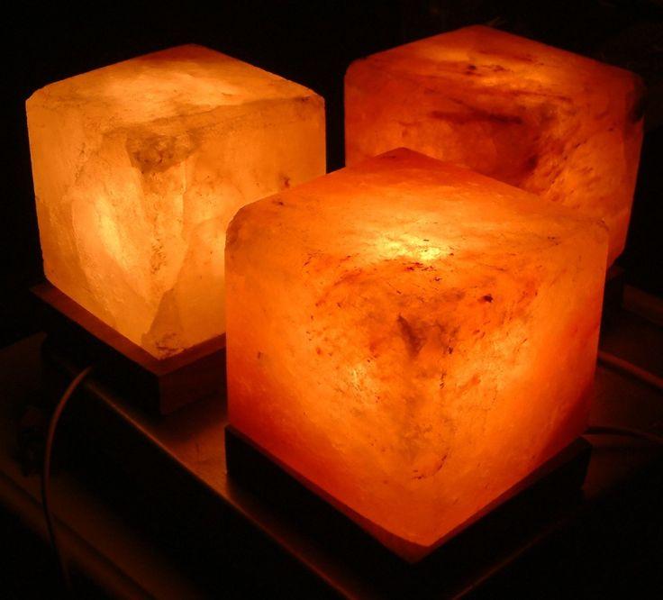 Himalayan Salt Lamps And Emf : The Cube Himalayan Pink Salt Lamp Top 10 Himalayan Pink Salt Lamps Pinterest Himalayan ...