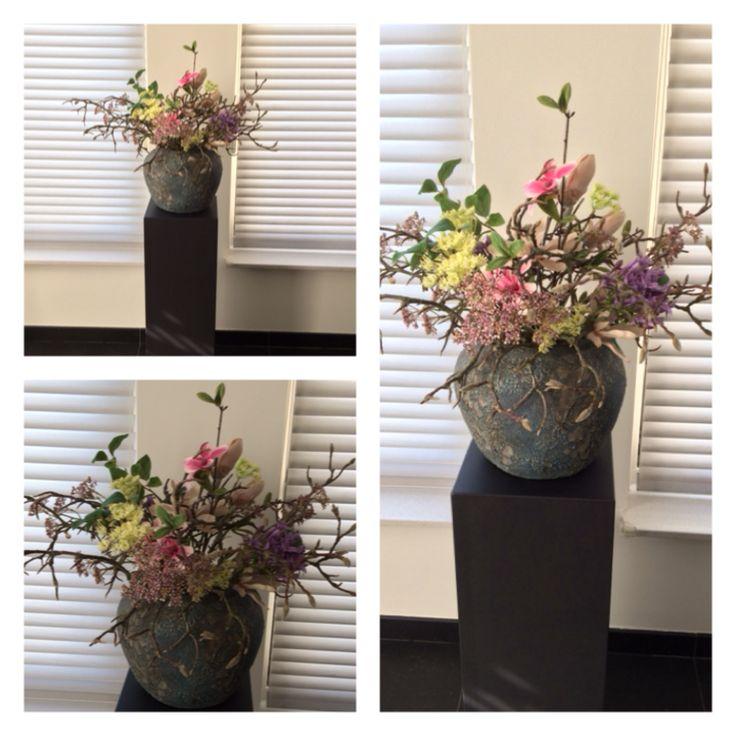 25 beste idee n over kunstbloemen op pinterest nepbloemen decor plastic bloemen en hortensia - Toiletten versieren ...
