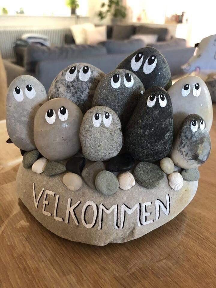 Como Decorar Piedras