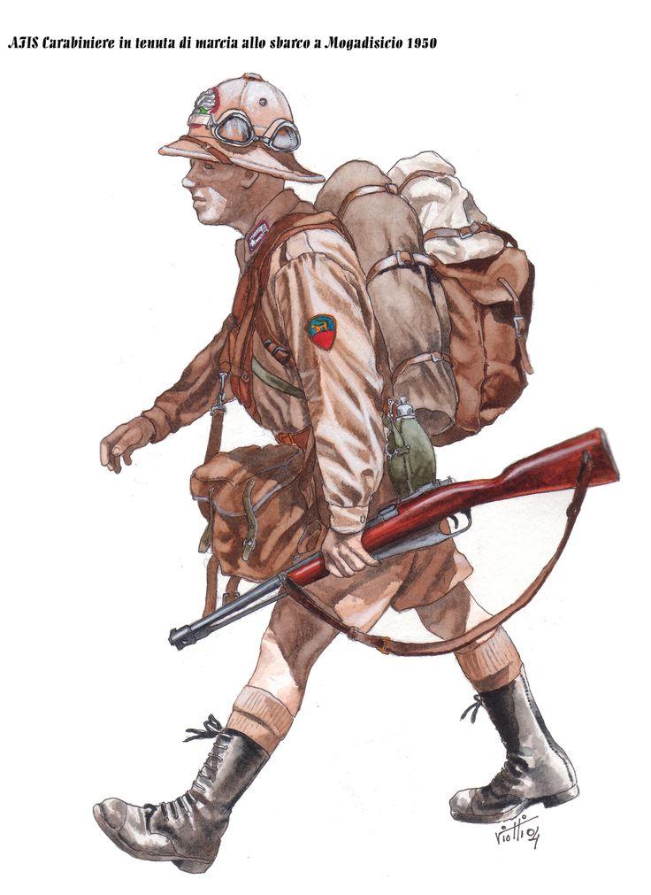 Carabiniere a Mogadiscio 1950