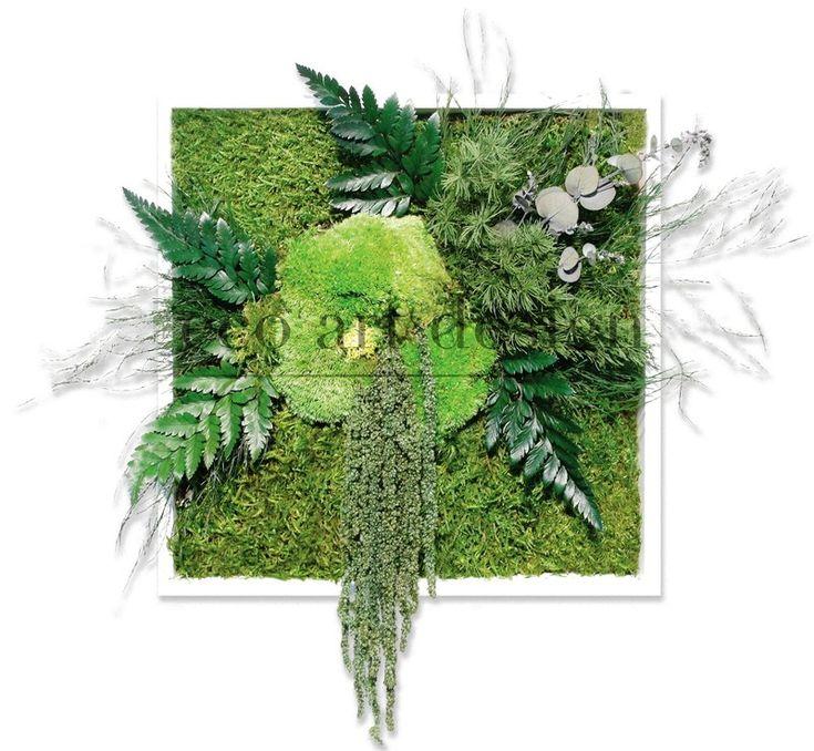 les 25 meilleures id es concernant tableau v g tal stabilis sur pinterest tableau vegetal. Black Bedroom Furniture Sets. Home Design Ideas