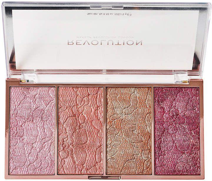Makeup Revolution Vintage Lace Blush Palette ad