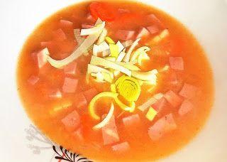 Vaříme bez tuku: Polévka se šunkou a pórkem