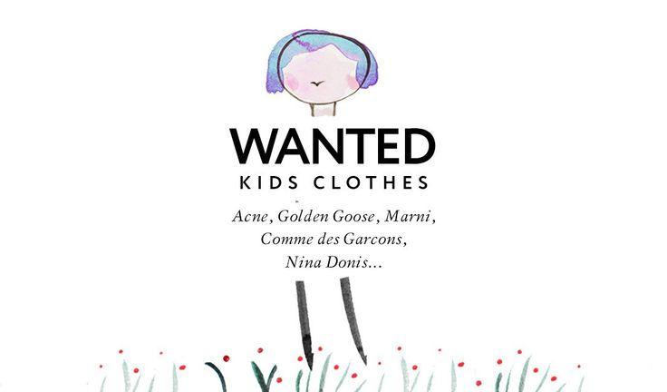 Скоро на нашем сайте появится раздел KIDS и в связи с этим Second Friend Store начинает прием детских вещей таких брендов, как: Comme des Garcons, Golden Goosе, Acne, Nina Donis.  Присылайте нам заявки в раздел приема вещей на сайте: http://secondfriendstore.ru/receptions/new