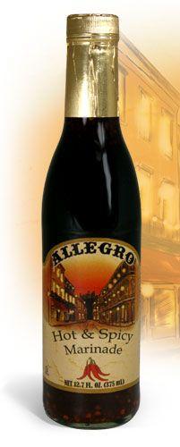 Allegro Marinade - Hot & Spicy Marinade