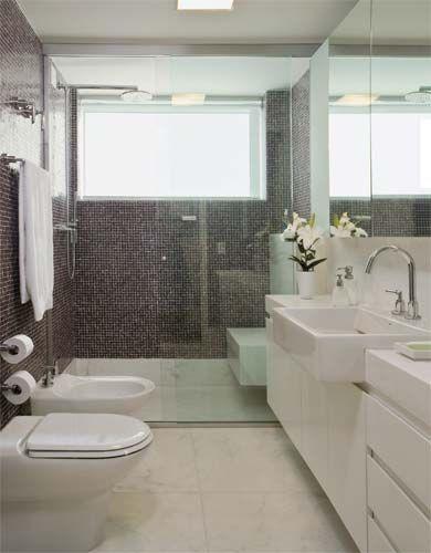 +1000 ideias sobre Banheiro Estreito no Pinterest  Banheiro Comprido E Estre -> Banheiro Comprido E Estreito Com Banheira