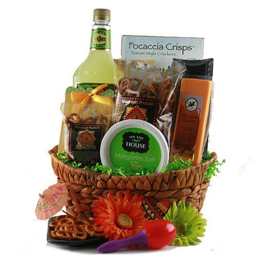 margarita craze margarita gift basket gourmet snacks and hors doeuvres gifts. Black Bedroom Furniture Sets. Home Design Ideas