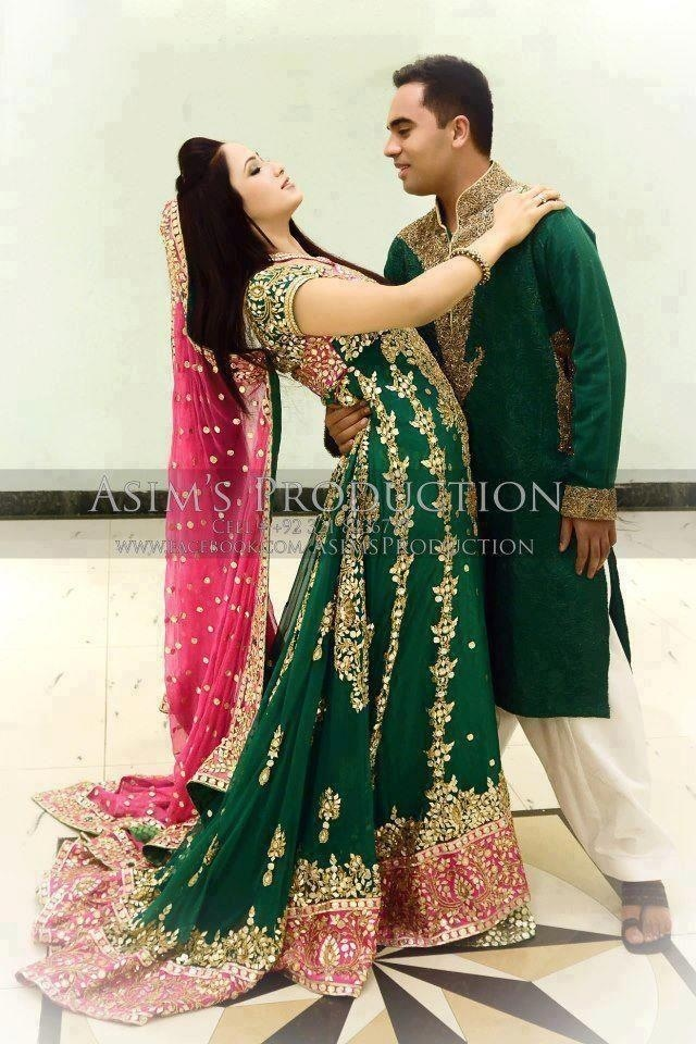 Pakistani Wedding Love The Couples Color Combo