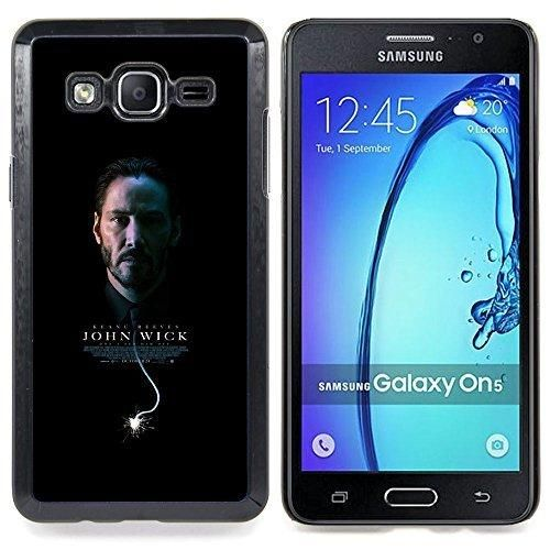 Queen Pattern - FOR Samsung Galaxy On5 SM-G550FY G550 - John Wick Poster - Impact Case Cover with Art Pattern Designs