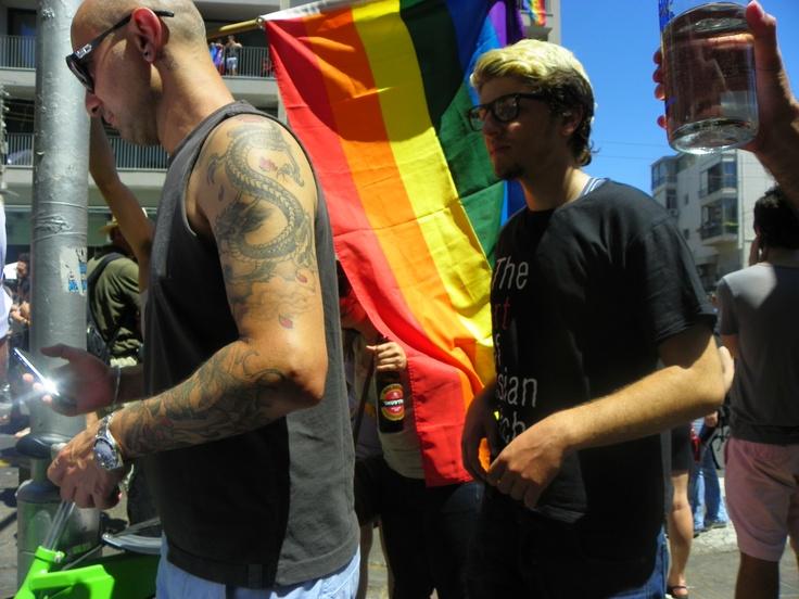 Tel Aviv Pride 2012 on Ben Yehuda St.