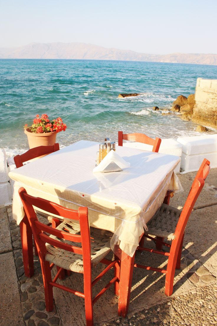 Taverna. Sea.View. Kissamos. Crete. Greece.  Photo: http://se.pinterest.com/berggren_f