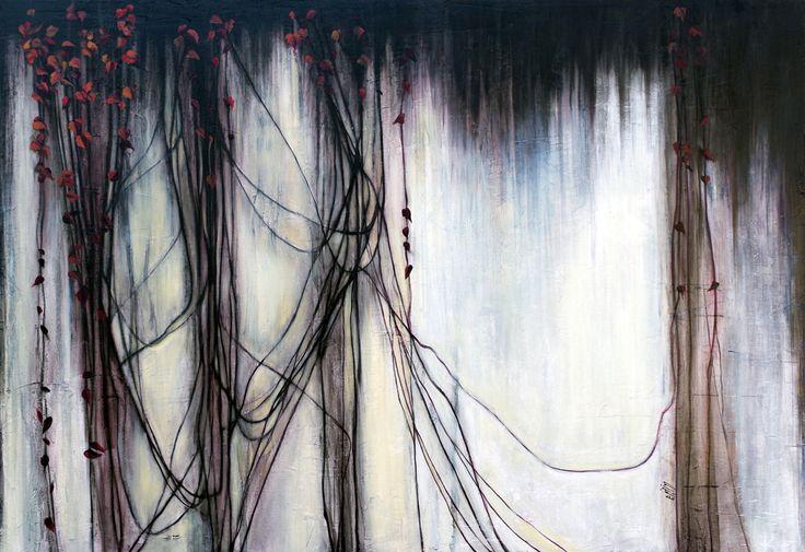 """""""Wonderwall"""" Oil on wood - 90x140 cm"""