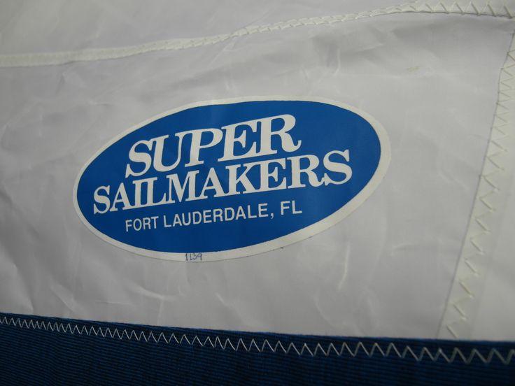 """#SOLD #VERKOCHT  #Genua 135% #Royal #Blue by #Super #Sailmakers #Florida  #Genoa 135% R-F (15,70m2)  Een paar keer gebruikt, zeer goede staat. Altijd op een droge & schone #zolder bewaard.  #SuperSailmakers, #FortLauderdale #Florida #USA  Gebruikt op een """"#Seaward 25"""" (9m)"""