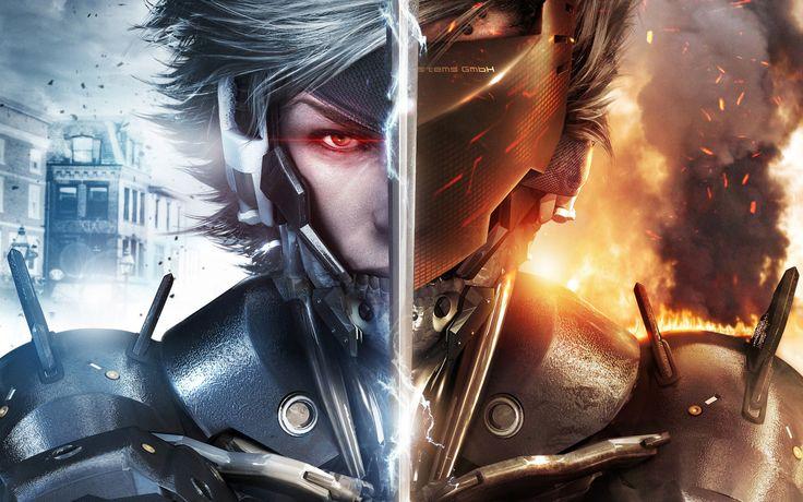 Raiden Metal Gear Rising Revengeance Wide  #Gear #Metal #Raiden #Revengeance #Rising #Wide