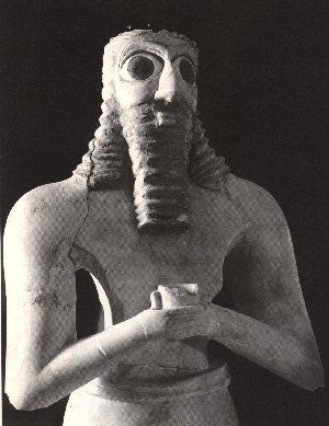 Is Enki holding the symbolic flask of a Bloodline he created? Enki was credited with the creation of mankind. The DNA of the Anunnaki and early hominids were combined and then incubated in the womb of his wife giving way to the first human. The missing link between the primates that we were and the sophisticated humaniods that we became almost overnight has puzzled scientists for decades.The missing link was Enki.