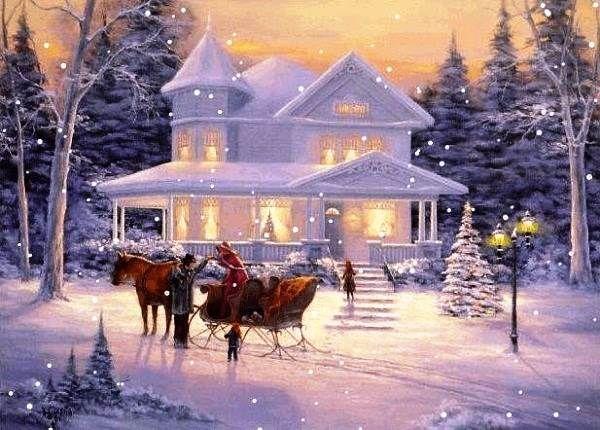 103 best CHRISTMAS WALLPAPER images on Pinterest