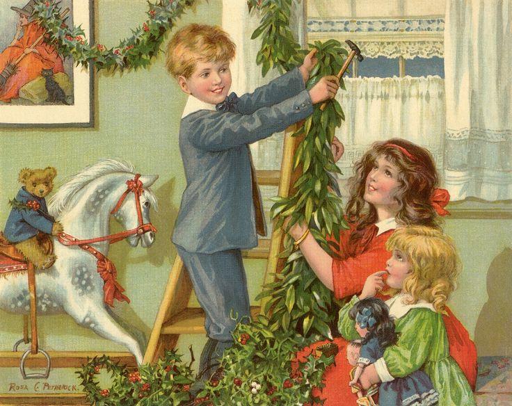 vanhanajan joulukuvat - Google-haku