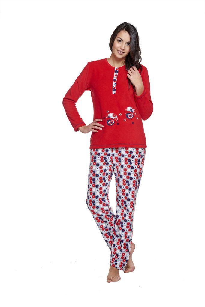 pijama en color rojo moda íntima belty paramí colección otoño invierno