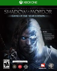 Middle-earth: Shadow of Mordor Game of the Year Edition for Xbox One | GameStop