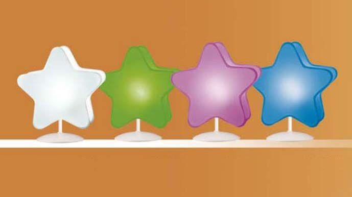 Bordlampe til barnerommet, modell STJERNE.#lampe #barnerom #interior #interiør #interiormirame #interiørmirame #interiørpånett #nettbutikk #design