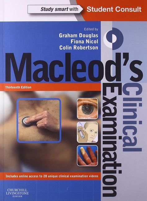 Macleod's Clinical Examination   Medical textbooks ...