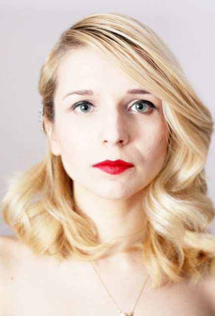 try to keep beauties: Jak zrobić retro fale (fryzury na wielkie wyjscie)