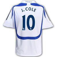 Adidas Chelsea Third Shirt 2007/08 with J. Cole 10 Chelsea Third Shirt 2007/08 with J. Cole 10 printing. http://www.comparestoreprices.co.uk/football-shirts/adidas-chelsea-third-shirt-2007-08-with-j-cole-10.asp