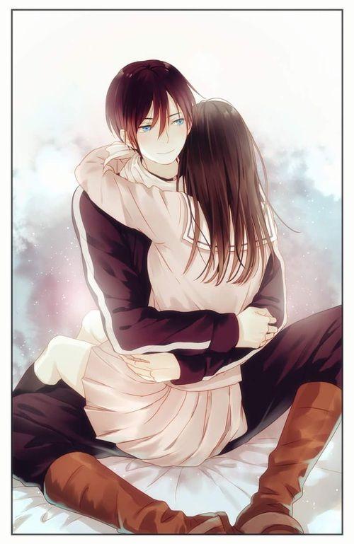 Noragami- Hiyori and Yato #Anime