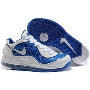441947 700 Nike Air Max 360 BB Low White Blue nike air max 97nike huarache rose gold Best Prices