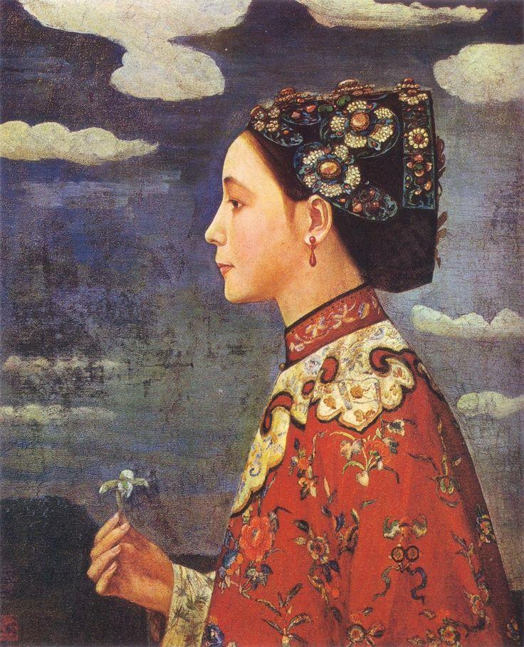 Painting by Fujishima Takeji