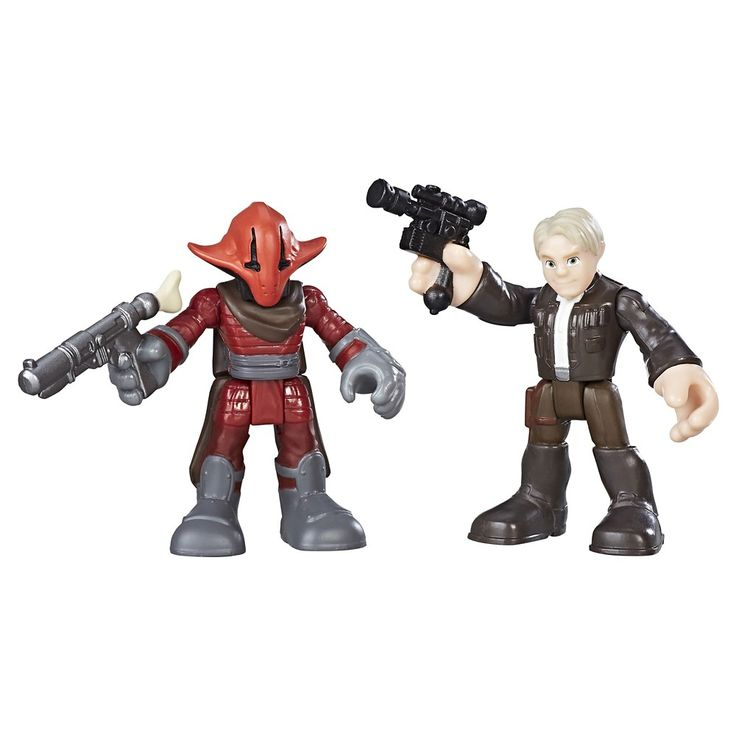 Preschool Heroes Star Wars Galactic Heroes Han Solo and Sidon Ithano 2-Pack
