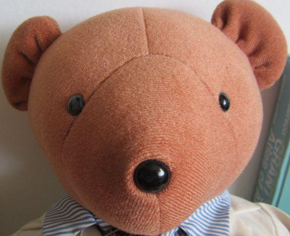 Vintage teddy bear-Dr. Kilbear named for by NowAndThenConnection
