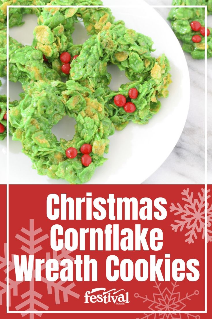 These Festive Christmas Cornflake Wreath Cookies Are The Perfect Way