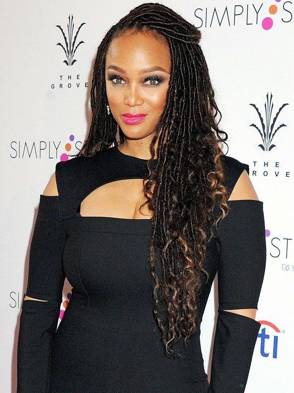 Beautiful Goddess Locs on Tyra Banks!