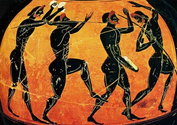 javelin throw ancient greece