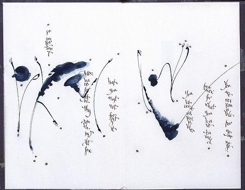 die besten 25 japanische kalligrafie ideen auf pinterest. Black Bedroom Furniture Sets. Home Design Ideas