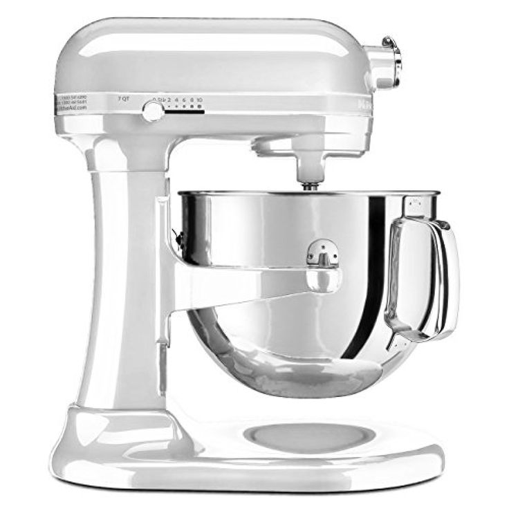 Kitchenaid ksm7586pfp 7quart pro line stand mixer frosted
