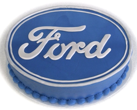 Ford cake for the groom!!! lol
