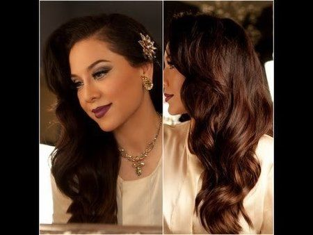 Stunning Old Hollywood Hair Look! Via #vegasnay #hairstyle #howto #TUTORIAL #prettyhair #longhair