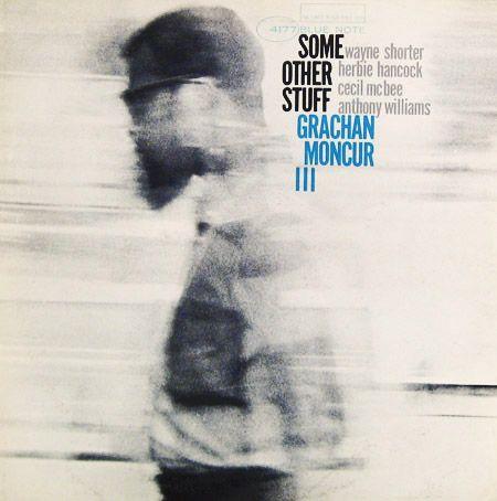 "Grachan Moncur: Some Other Stuff Label: Blue Note 4177 12"" LP 1964  Design and photo: Reid Miles"