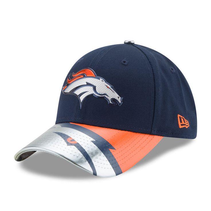 Denver Broncos New Era Women's 2017 NFL Draft On Stage 9FORTY Adjustable Hat - Navy